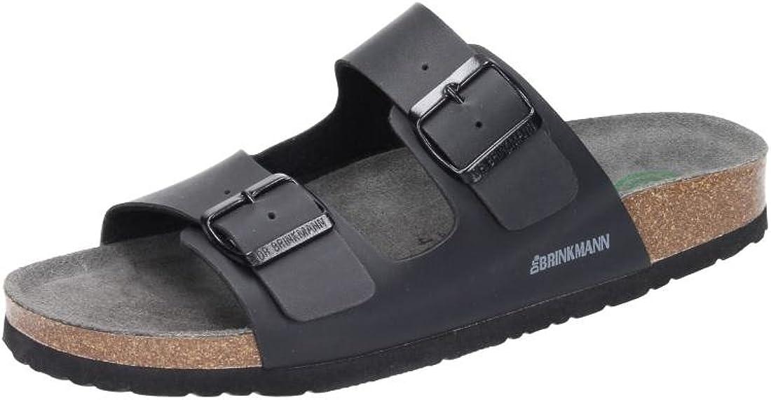 Superior Dr.Brinkmann Mens Clogs OFFicial store 601141-1 Schwarz Pantoletten