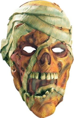 Rubie's Costume Co. 3454 Mummy Mask Costume, Standard, Multicolor