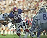 Darryl Talley Buffalo Bills Autographed 8'' x 10'' Running Through the Line Photograph - Fanatics Authentic Certified