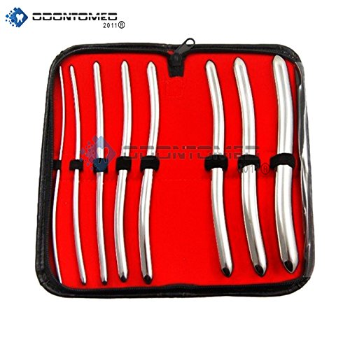 odontomed2011r-8-piece-dilator-set-with-pouch-hegar-sounds-dilator-set-stainless-steel