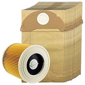 Amazon.com: SPARES2GO Hoover bolsas y filtro para aspiradora ...