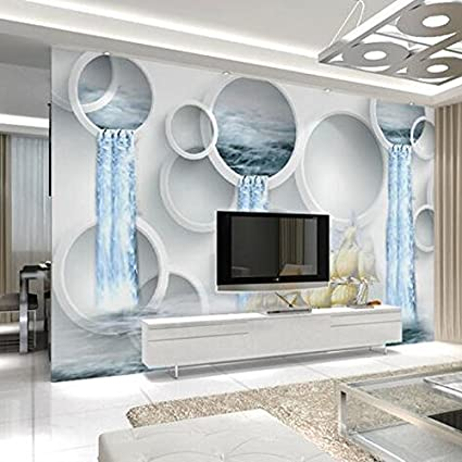 LHDLily 3D Wallpaper Mural Wall Sticker Thickening India