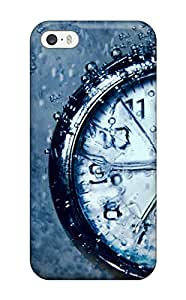 Defender Case With Nice Appearance (awesome Underwater Clock) For Iphone 5/5s