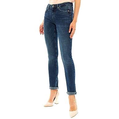 ofrecer descuentos características sobresalientes la mejor moda Liu Jo U69016D4127 Pantalones Vaqueros Mujer: Amazon.es: Ropa y ...