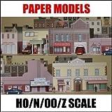 (US) 150 Paper Model Buildings CD