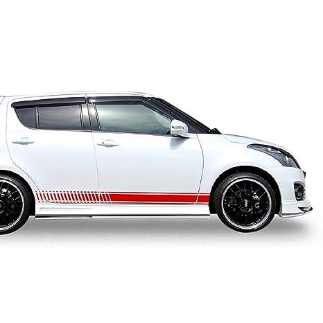 Suzuki Swift Side Sticker Graphic Decal Stripes Karosserie
