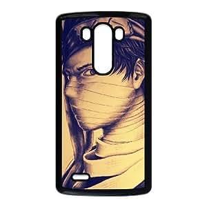 Zabuza Momochi 01 a la mejor funda LG caja del teléfono celular G3 funda cubre negro