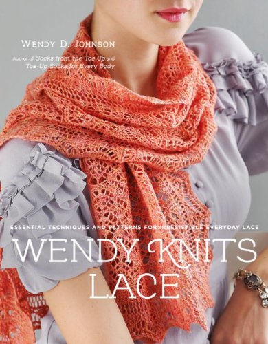 Clay Lace (Wendy Knits Lace: Essential Techniques and Patterns for Irresistible Everyday Lace)