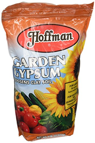 Hoffman 17005 Garden Gypsum, 5 Pounds from Hoffman