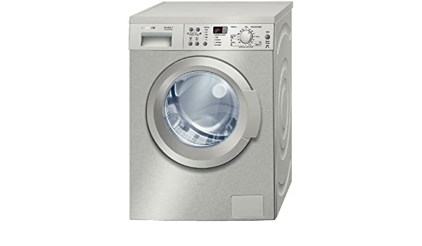 Bosch WAQ2031XEE Independiente Carga frontal 7kg 1000RPM A+ Acero ...