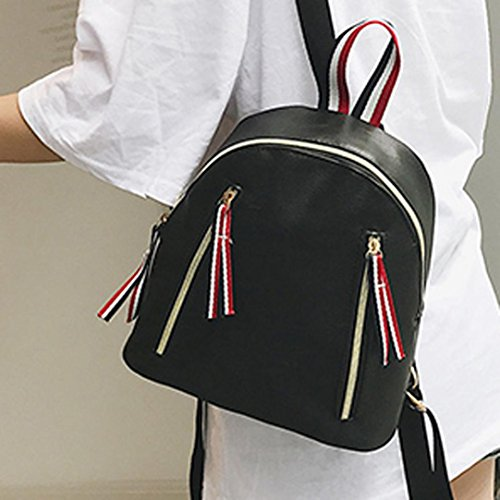 LtrottedJ Women Leather Backpacks,Schoolbags Travel Shoulder Bag (A) - Buy  Online in Oman.   Misc. Products in Oman - See Prices, Reviews and Free  Delivery ... db61458b4e