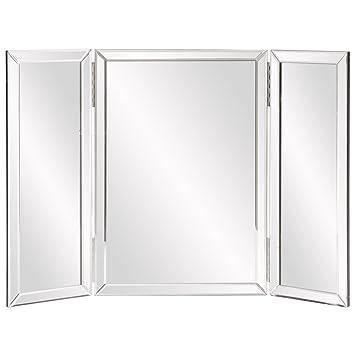 Howard Elliott Tripoli Trifold Vanity Mirror 21u0026quot;x31u0026quot; ...