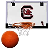University of South Carolina Gamecocks Indoor Basketball Hoop Set - Over the Door Game