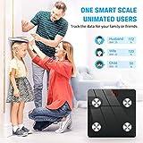 Smart Bluetooth Body Fat Scale, Jack & Rose Digital