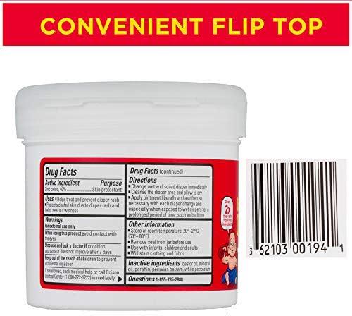 51cC %2BGSciL. AC - Boudreaux's Butt Paste Maximum Strength Diaper Rash Ointment, 14 Oz Jar