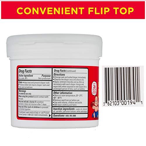 Boudreaux's Butt Paste Maximum Strength Diaper Rash Ointment, 14 oz Jar