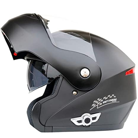 Amazon.com: MOPHOTO - Casco de motocicleta con Bluetooth ...