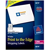 "Avery Laser Labels, Matte, Mailing, 3-3/4"" x 1-1/4"", 300 per Pack (6879)"
