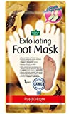 """EXFOLIATING LARGE FOOT MASK PAPAYA & CHAMOMILE EXTRACT - 1 pair * """"Sock type"""" foot exfoliating LARGE mask * Perfectly peel away calluses and dead skin cells in just 2 weeks!!!"""