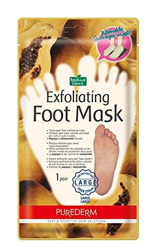 Amazon.com   Purederm Exfoliating Foot Mask  Large Size (Over Over M ... cadb15b41685