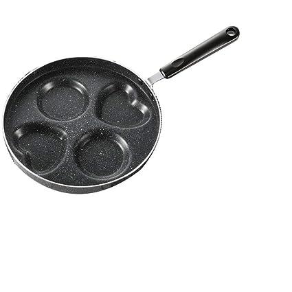 DWUN Sartenes Antiadherentes Cocina Esencial Sartén Mini Pancake Pan Huevo Bola de Masa hervida Huevo Molde