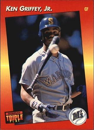 62d4a0bf68 Amazon.com: 1992 Triple Play Baseball Card #152 Ken Griffey Jr. Mint:  Collectibles & Fine Art
