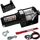 Runva 2500 Lbs Electric 12V ATV UTV Winch