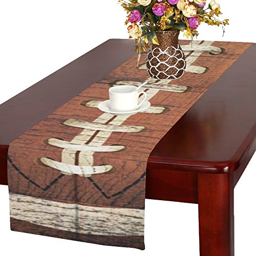 Love Nature Houseables Fitted Custom American football Cotton Table Runner 16