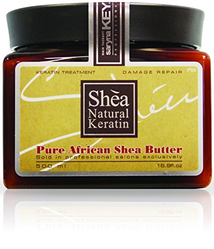 - Saryna Key Damage Repair Shea Butter, Pure African Shea Butter for Natural Skin and Hair Moisturizer, Organic African Shea Butter - 500ml/ 16.9 FL.oz