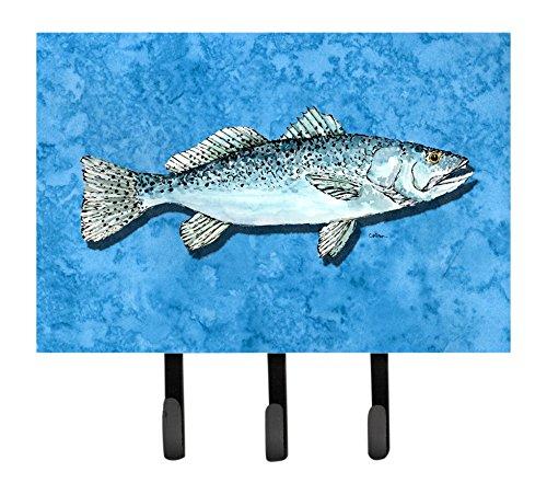 Triple Carolines Treasures 8770TH68 Fish Trout Leash Holder or Key Hook Trout Leash Holder or Key Hook Multicolor Caroline/'s Treasures 8770TH68 Fish