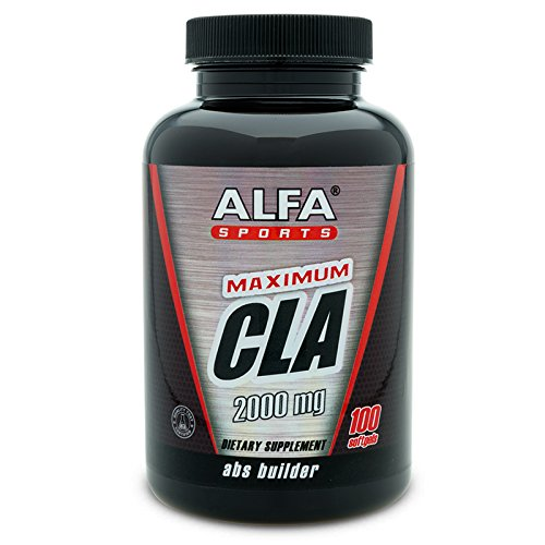 Maximum CLA 2000 Mg 100 Softgels. Conjugated Linoleic Acid. Abs Builder. Helps Reduce Body Fat. Supports Weight Loss