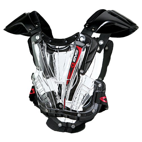 EVS VEX Adult Off-Road Motorcycle Chest Protector - Clear/Black/Medium