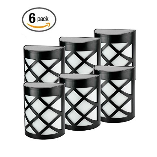 Deck And Fence Wall Mount Solar Lights - 6