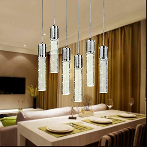FidgetKute LED Bubble Crystal Ceiling Light Dining Room Pendant Lamp Lighting Chandelier Single-headsingle-Head by FidgetKute (Image #7)