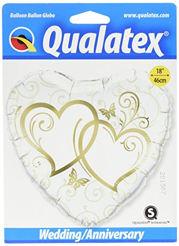- PIONEER BALLOON COMPANY Entwined Hearts Package Balloon, 18