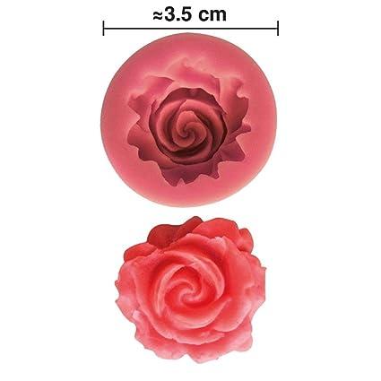 Moule Silicone 3d Rose Pour Pate A Sucre Cake Design Decoration