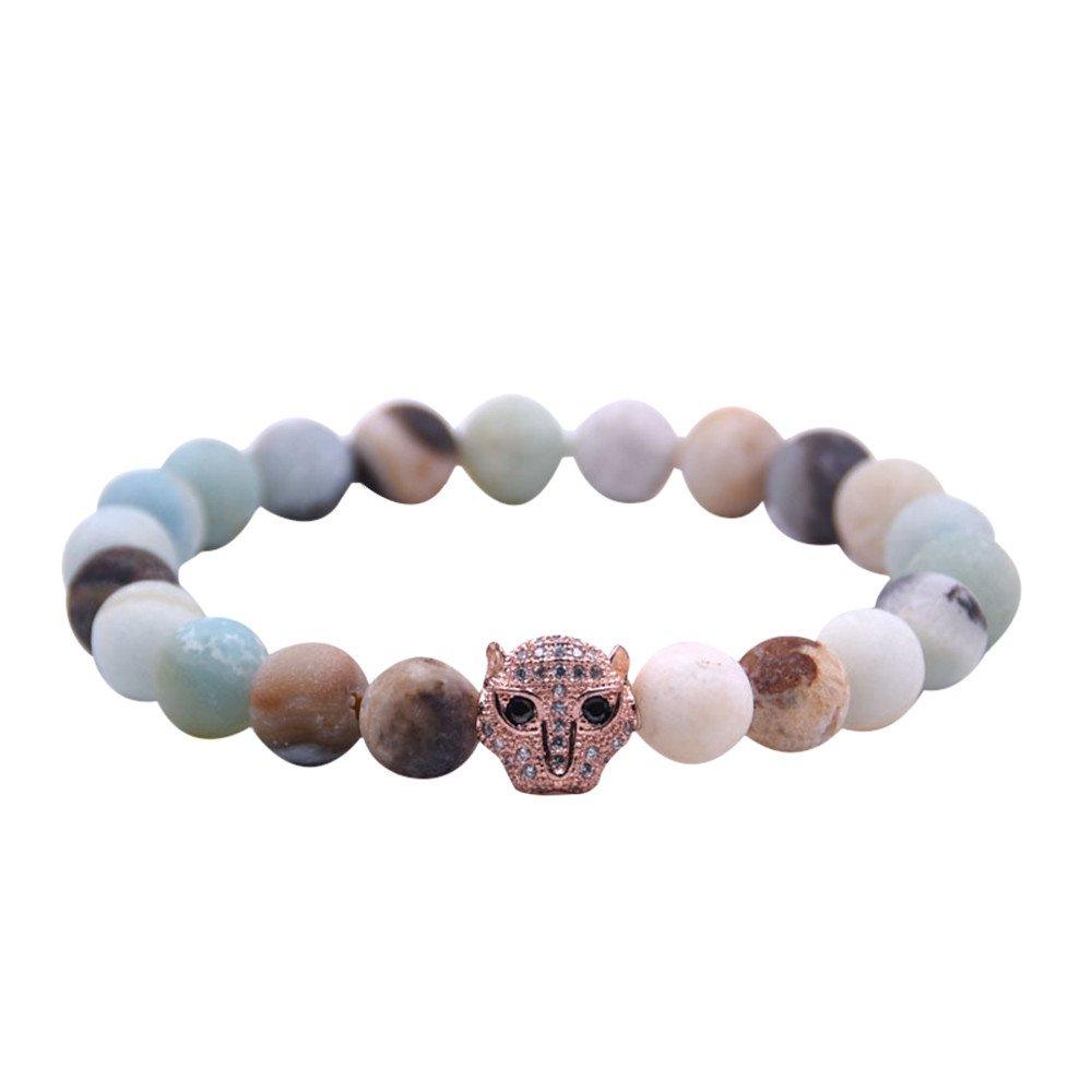 Bracelet en perles de bijoux pour femmes,perles de chakra de mode en pierre naturelle de mode color/ée,bracelets de femmes pour la collocation de tous les jours Simple pratique toute occasion