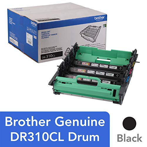 (Brother Genuine Drum Unit, DR310CL, Seamless Integration, Yields Up to 25,000 Pages, Color)