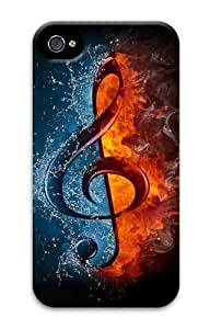 Digital Music PC Case for iphone 4S/4