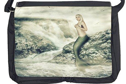 Borsa Tracolla Fantasy sexy sirena Stampato