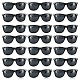 Case of 120 Retro Sunglasses Wedding Party Favors (Black)