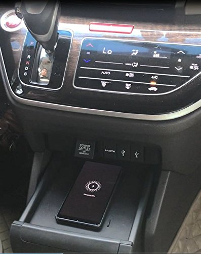 2016-2018, Accord PurityCar Special Car Wireless Charger Install the Wireless Charger Into the Car as the Original