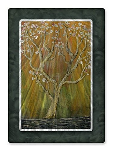 - Wall Art Modern Home Decor Abstract Metal Wall Sculpture Contemporary Blossom Tree