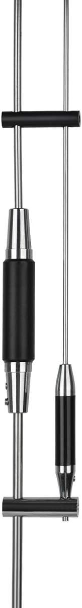 HYS VHF UHF Mult-Band Mobile Radio 2 Meter /& 70cm Antenna 37.9 Inch 144//245//430Mhz Whip Antenna for Baofeng Anytone Kenwood TYT Mobile Radios