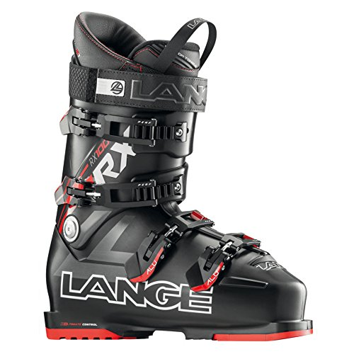 Lange RX 100 Ski Boot Men's Black/Red 28.5