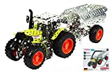 TRONICO TRON10011 TRATTORE CLAAS ARION 430 + TRAILER PCS 700 cm 30,5 SCALA 1:32