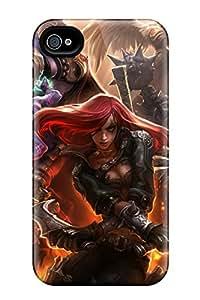 Eriklcoeman Iphone 4/4s Hybrid Tpu Case Cover Silicon Bumper League Of Legend Dominion
