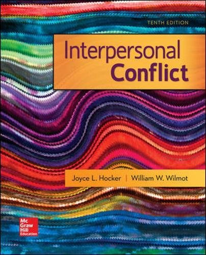 73523941 - Interpersonal Conflict