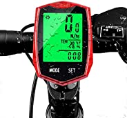 Multi Functions Wireless Bicycle Speedometer,Bycicle Speedometer Wireless Waterproof Bicycle Speedometer with