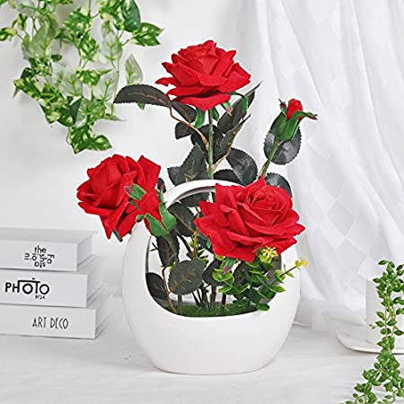 Rose Emulation Flower Package Silk Flowers Flower Shops In The